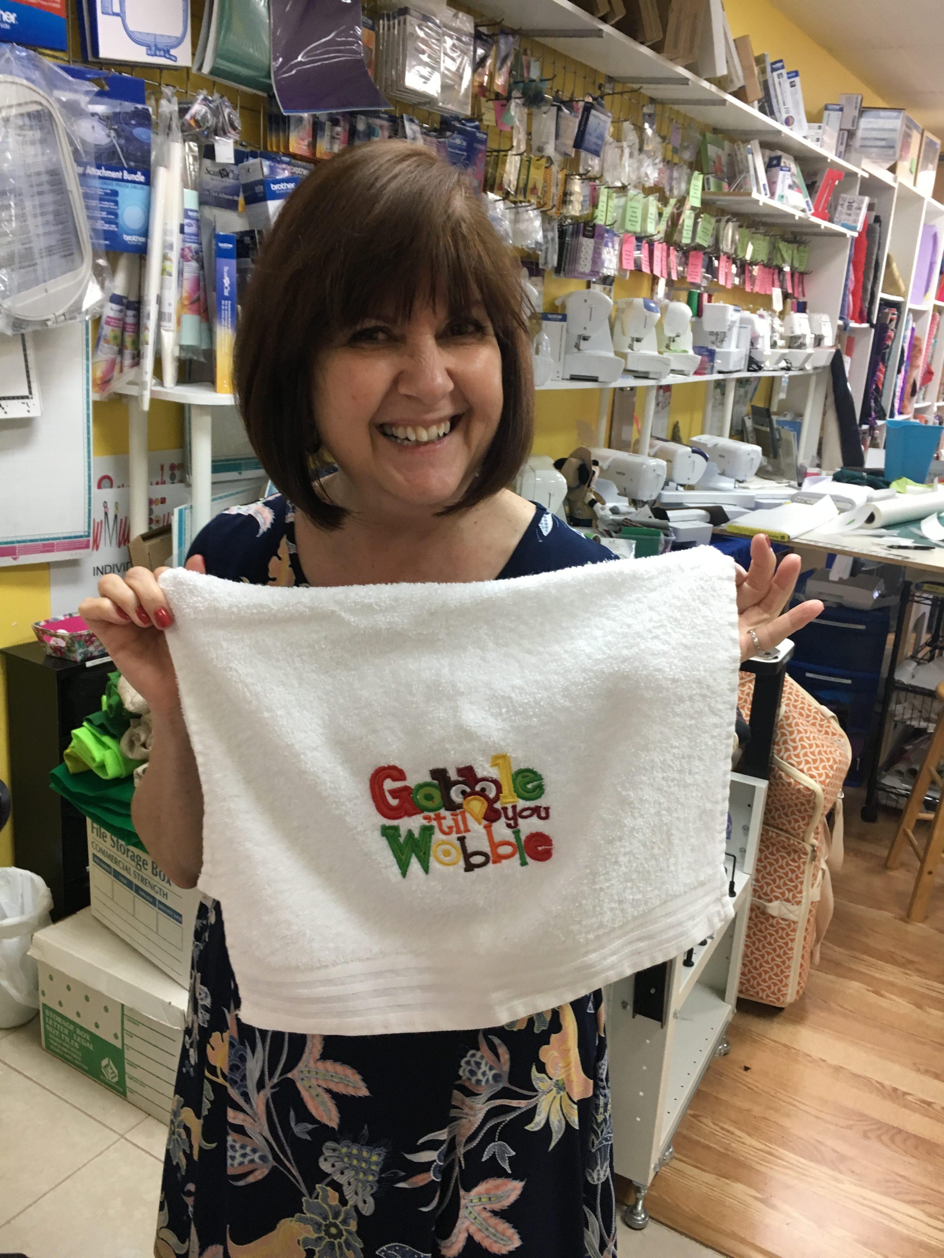 Linda's gobble towel