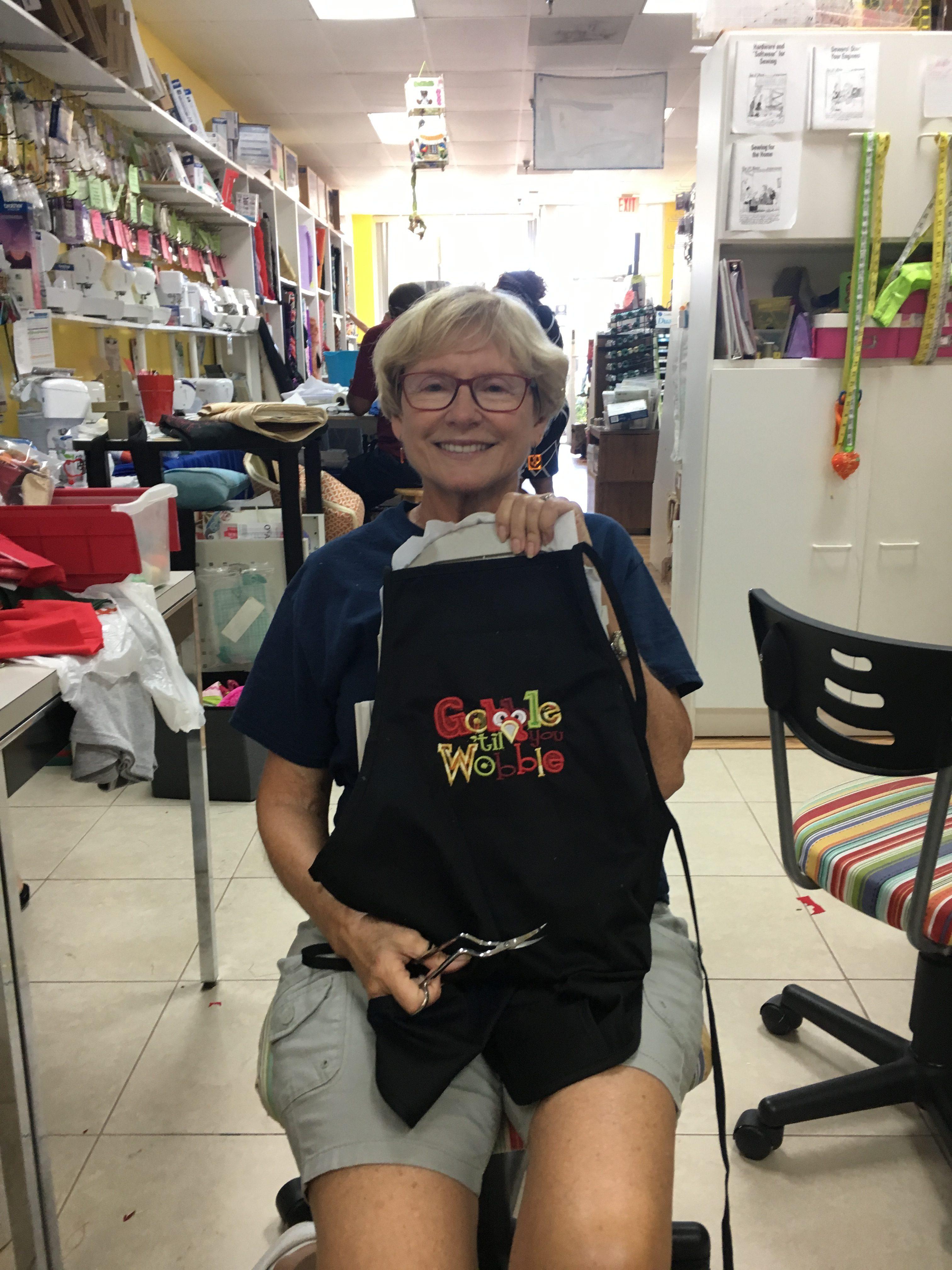 Nikki's gobble apron