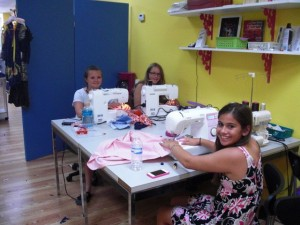Teen class at Sew Much Fun, where South Florida Customers are Number One!
